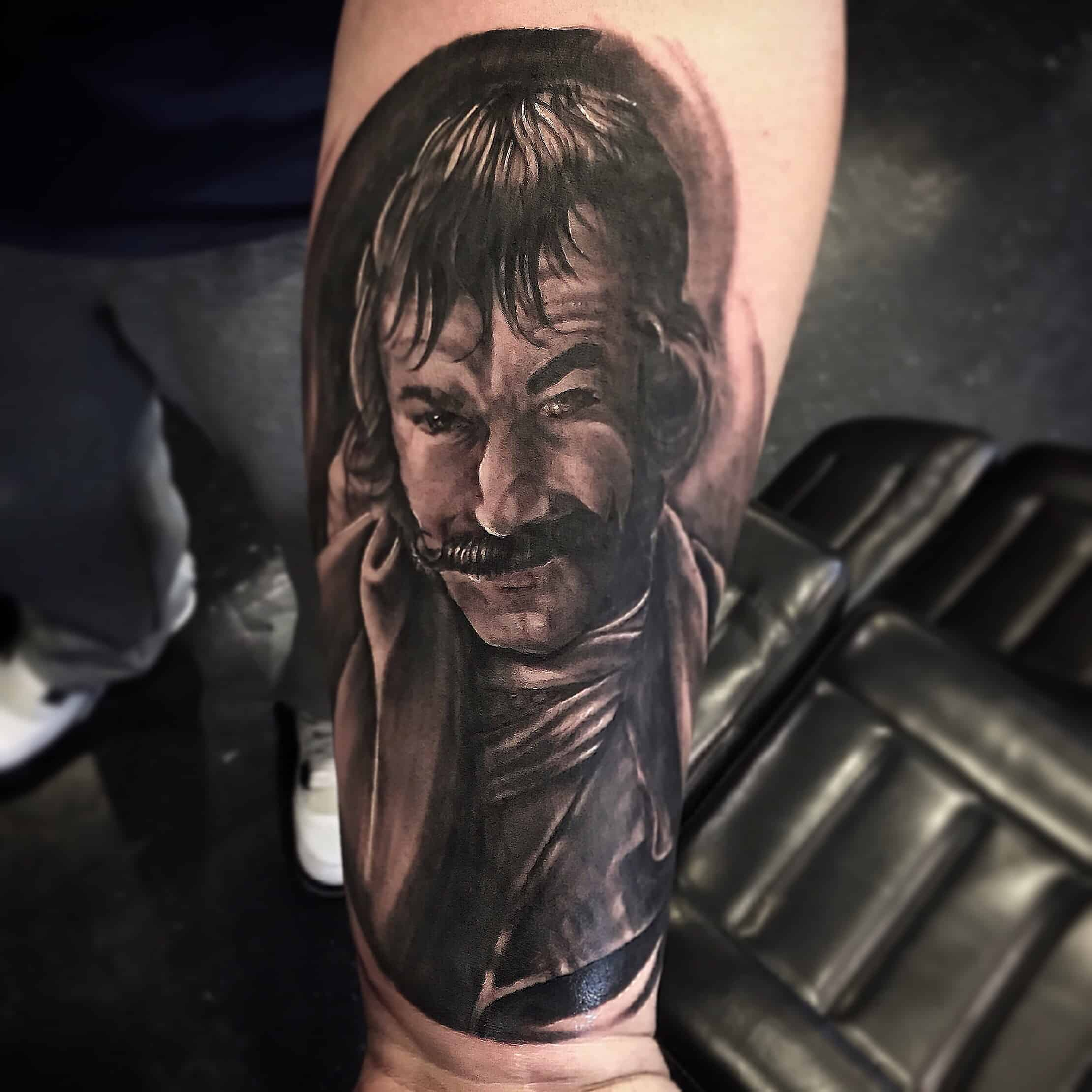 f8b3080e03972 Mikee is the Owner/Artist of Inkstained Tattoo Studio. Specializing in  realism, black and grey, new school and neo-traditional. Whatever you  choose to do, ...